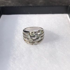 US 8 Silver Ring